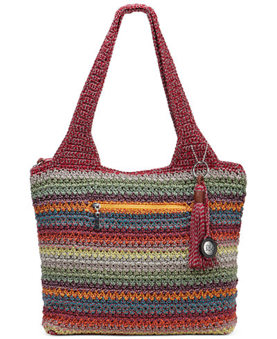 Le Sak Crochet Bags : The Sak Casual Classics Large Crochet Tote - Handbags & Accessories ...