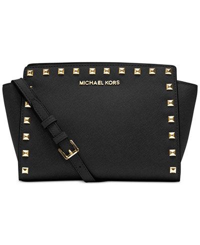 d18b63d8ca14 MICHAEL Michael Kors Selma Medium Top Zip Satchel - Dealmoon