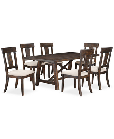 Ember 7 Piece Dining Room Furniture Set Only At Macy 39 S Furniture Macy 39 S
