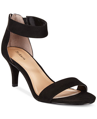 Style Amp Co Paycee Two Piece Dress Sandals Only At Macy S