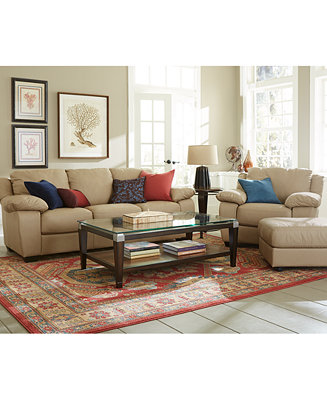 Blair Leather Sofa Living Room Furniture Collection