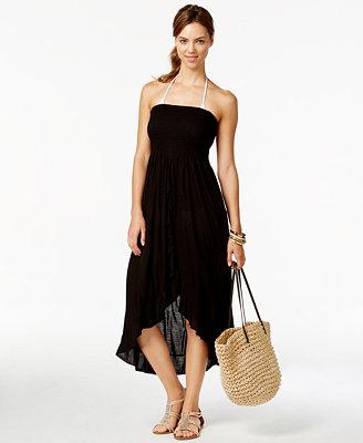 Raviya Smocked Tube Dress Cover Up Swimwear Women Macy S