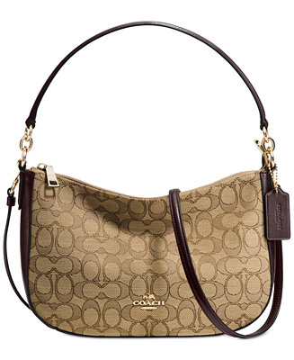 Coach Chelsea Crossbody In Signature Jacquard Handbags