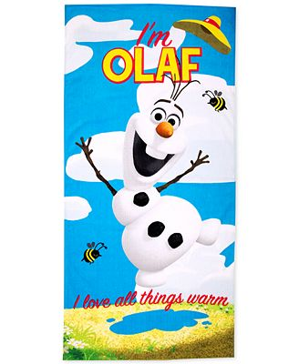 Jay Franco Frozen Olaf Beach Towel