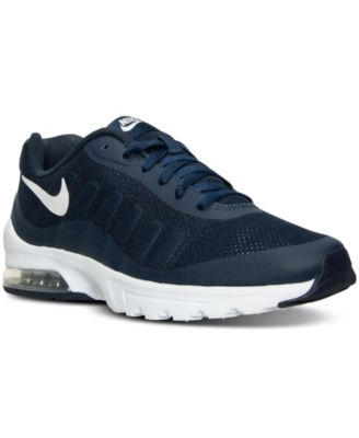 Nike Men S Air Max Invigor Running Sneakers From Finish Line In Midnight  Navy White 4f1b1f40bd39