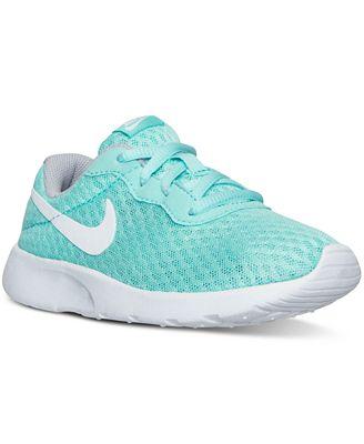 Nike Little Girls Tanjun Casual Sneakers from Finish Line