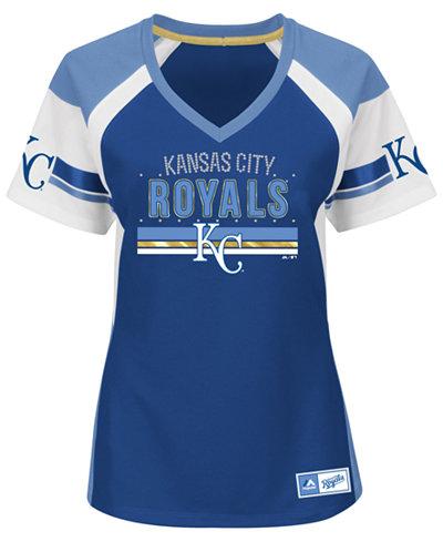 Majestic women 39 s kansas city royals draft me t shirt for Custom shirts kansas city