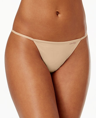 Calvin Klein Sleek Model G String Thong D3509