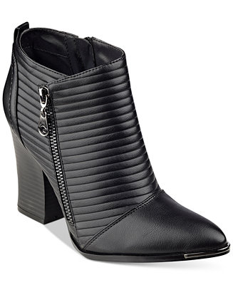 G by GUESS Mayko Moto Booties - Boots - Shoes - Macy's