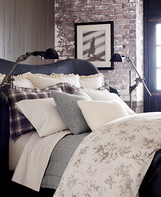 Ralph Lauren Hoxton Bedding Collection Bedding