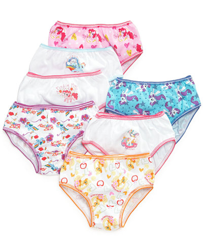 My Little Pony Little Girls Or Toddler Girls 7 Pack