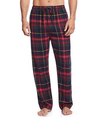 Polo Ralph Lauren Men S Plaid Flannel Pajama Pants Men