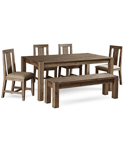 Canyon 6 Piece Dining Set Only At Macy S Table 4 Side