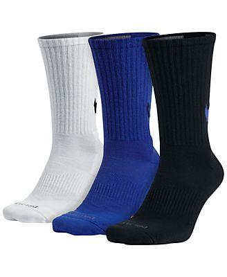 Nike Dri-FIT 3-Pack HBR Swoosh Crew Socks