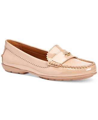 COACH Womans Odette Casual Loafers