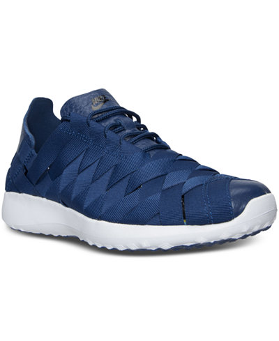 nike women's juvenate woven casual sneakers from finish