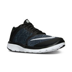 Nike FS Lite Run 3 Print Mens Running Shoes - Cool Grey
