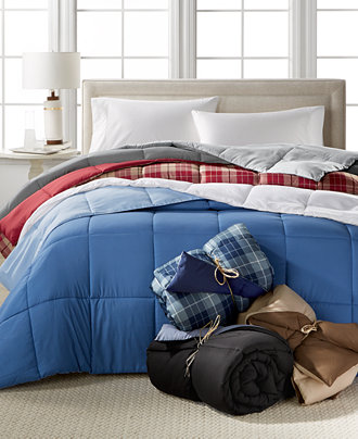 Home Design Down Alternative Color Comforters Hypoallergenic Only At Macy 39 S Comforters Down