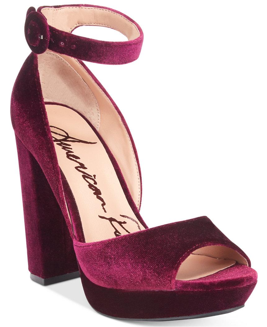American Rag Reeta Block-Heel Platform Sandals