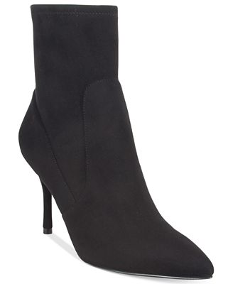 Nine West Cadence Sock Pointed-Toe Booties - Boots - Shoes ...