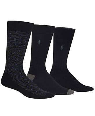 Polo Ralph Lauren Men's 3-Pk. Dress Socks