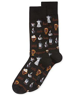 Hot Socks Men's Coffee Socks