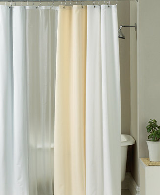 Charter Club Bath Accessories Shower Curtain Fabric Liner
