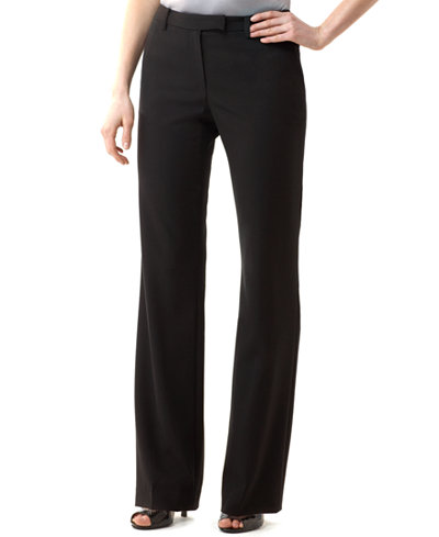 Calvin Klein Madison Stretch Dress Pants - Pants - Women ...