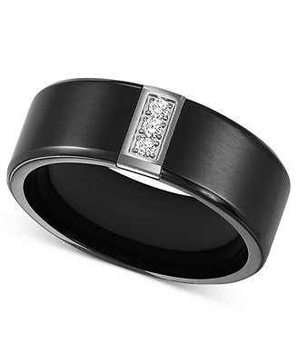 Black Diamond Mens Ring Macys