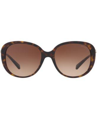 COACH Sunglasses, Hc8215 in Tort/Brown Gradient