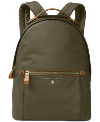 MICHAEL KORS Michael  Kelsey Large Backpack in Neutrals