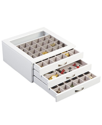 Mele co jewelry box liza white macy 39 s for Macy s standing jewelry box