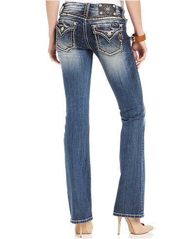 miss me embellished bootcut jeans jeans women macy 39 s. Black Bedroom Furniture Sets. Home Design Ideas
