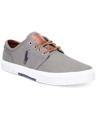ralph lauren faxon sneakers  shoes  men  macy's