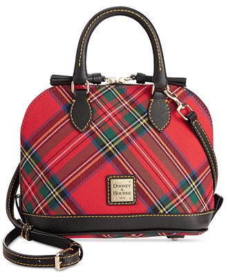 Dooney Amp Bourke Tartan Bitsy Bag Handbags Amp Accessories