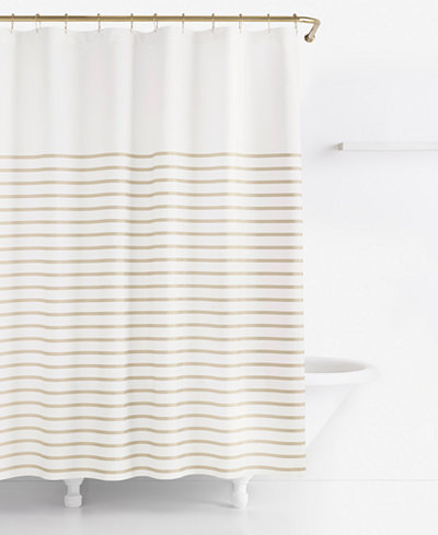 Kate Spade New York Harbour Stripe Shower Curtain 100