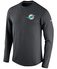 Mens Miami Dolphins Black Touchback VII Hooded Sweatshirt