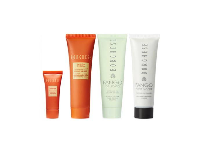 Receive a free 4piece bonus gift with your $50 Borghese purchase