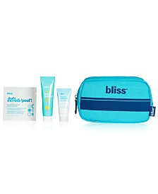 Receive a free 4-piece bonus gift with your $40 Bliss purchase