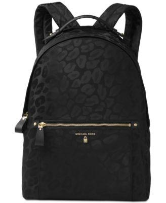 MICHAEL KORS Michael  Kelsey Large Backpack in Black