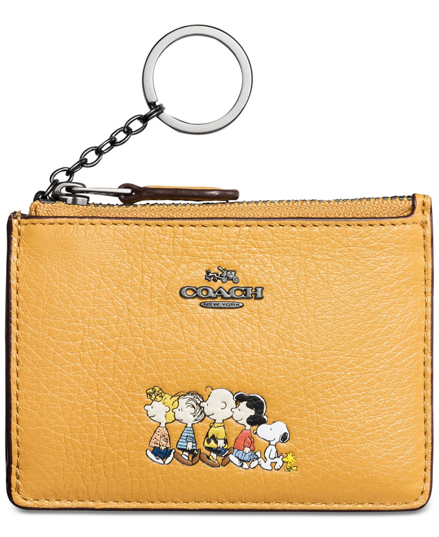 Coach Boxed Small Wallet With Snoopy Coach t9E7Qii