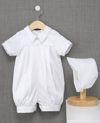 Lauren Madison Baby Boys Romper Baby Boys Christening
