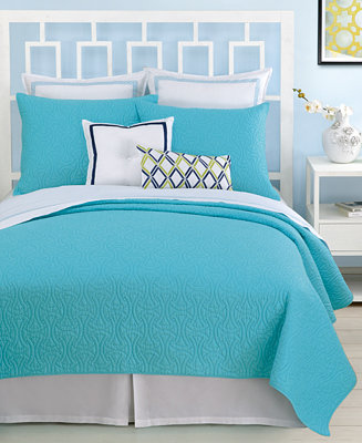 Trina Turk Santorini Turquoise Bedding Collection