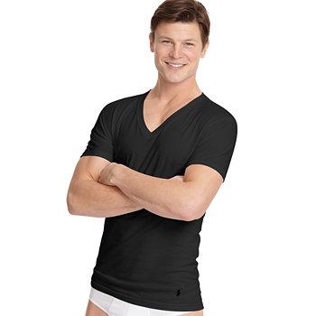 3-Pk. Polo Ralph Lauren V Neck T-Shirts