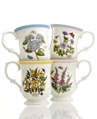 Portmeirion dinnerware set of 4 botanic garden terrace for Portmeirion dinnerware set of 4 botanic garden canape plates