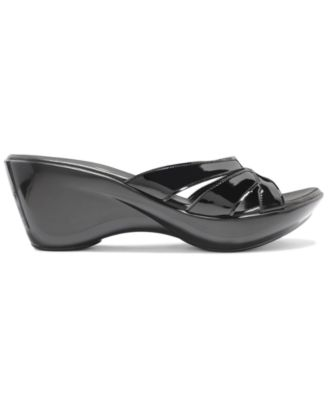 Callisto Jet Wedge Sandals