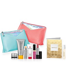 Receive a free 8-piece bonus gift with your $50 Elizabeth Arden purchase