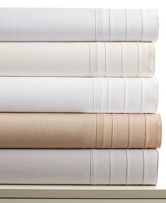 Barbara Barry Satin Tux Queen Sheet Set Sheets Bed Bath Macy 39 S