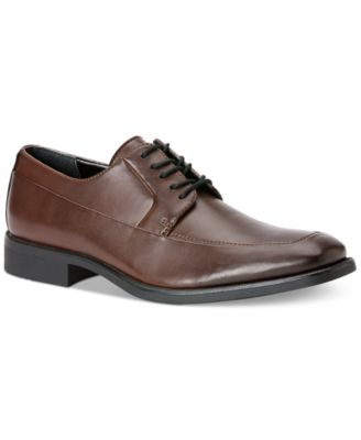 Calvin Klein Mens Elroy Moc-Toe Oxfords