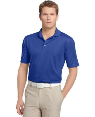 Izod Performance Solid Grid Golf Polo